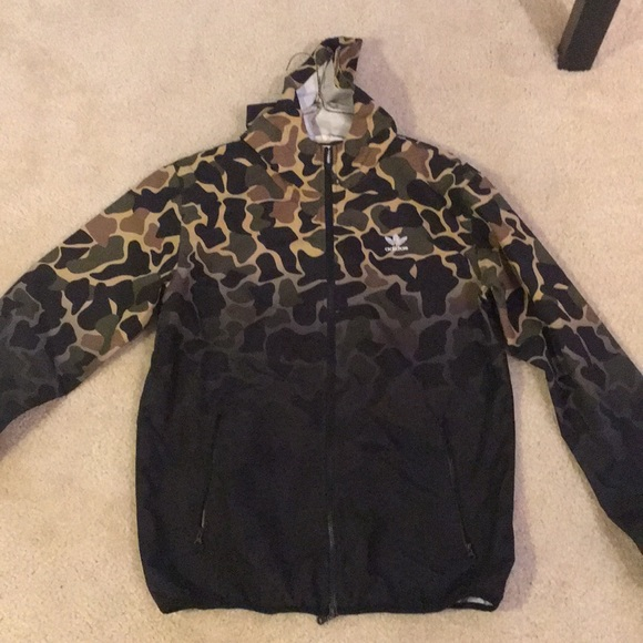 "Adidas ""CAMO"" WB Jacket"